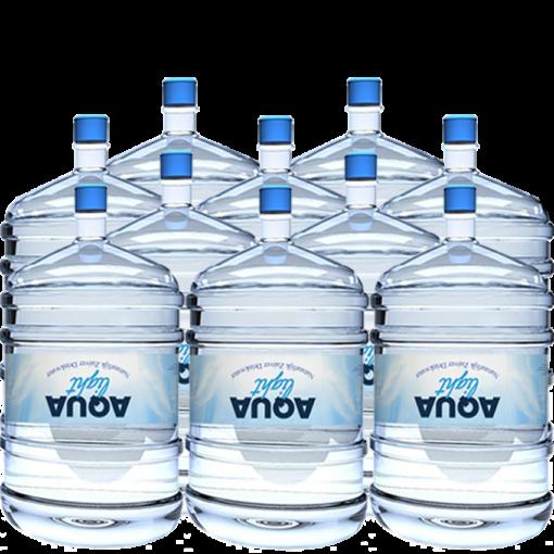 Waterflessen voor waterkoeler zonder statiegeld