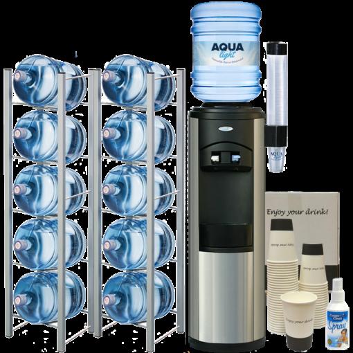 Waterkoeler staand kantoor - Business pack Aqua