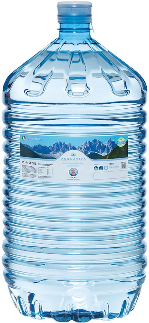 Waterfles voor waterkoeler