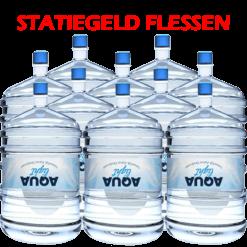 10 x Water bestellen in flessen voor waterkoeler met statiegeld