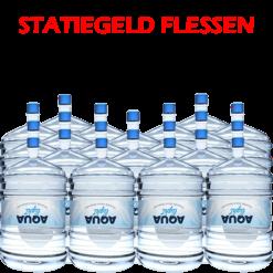 20 x Water bestellen in flessen voor waterkoeler met statiegeld