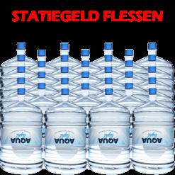 32 x Water bestellen in flessen voor waterkoeler met statiegeld