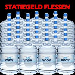 48 x Water bestellen in flessen voor waterkoeler met statiegeld