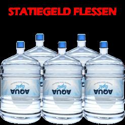 Water bestellen voor waterkoeler met statiegeld